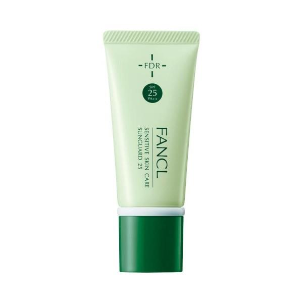 Солнцезащитный крем для сухой чувствительной кожи Fancl Sensitive Skin Care Sunguard 25