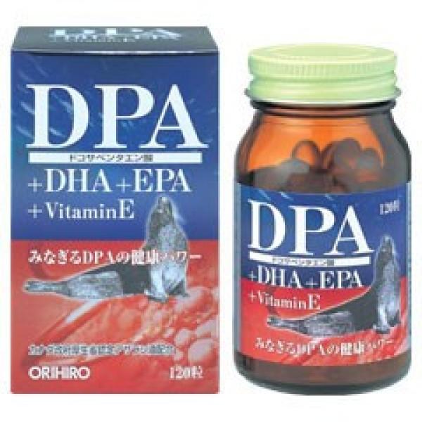 Омега 3 жирные кислоты DPA + DHA + EPA  ORIHIRO