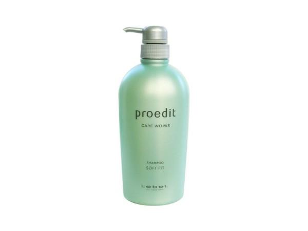 Увлажняющий шампунь LEBEL PROEDIT CARE WORKS SHAMPOO SOFT FIT для для ухода за сухими и жесткими волосами 700 мл