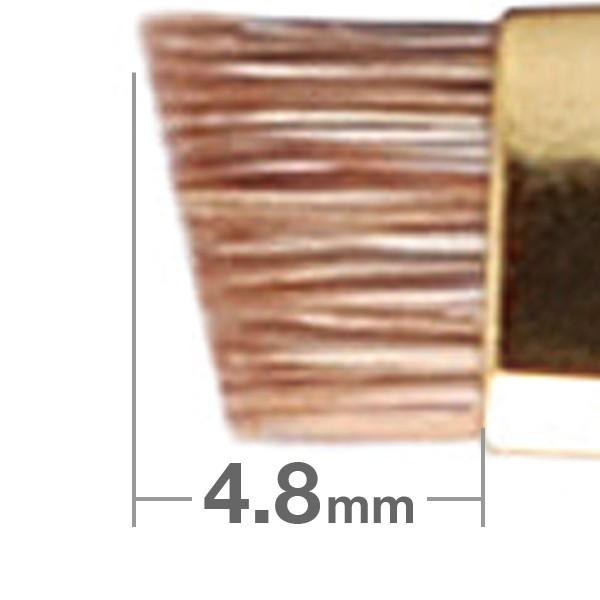 Кисть для бровей HAKUHODO Eyebrow Brush Angled S163Bk