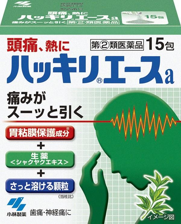 Средство от головной боли Kobayashi Pharmaceutical Hakkari Ace