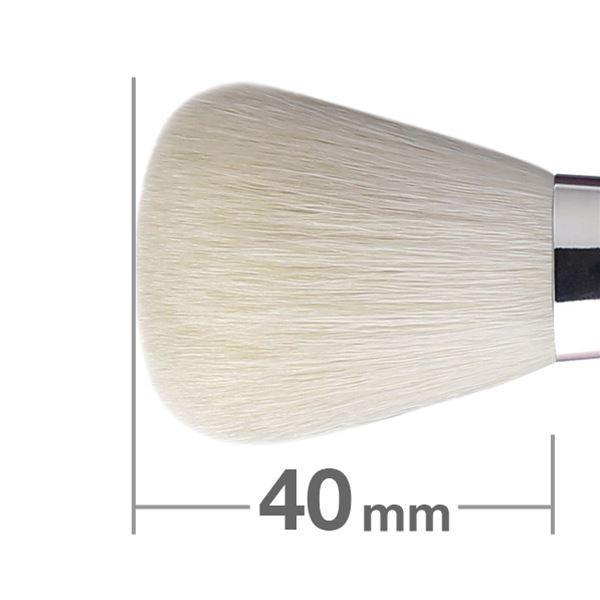 Кисть для пудры HAKUHODO Powder Brush Round & Flat K022