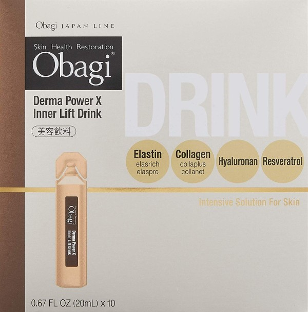 Жидкие витамины Obagi Derma Power X Inner Lift Drink