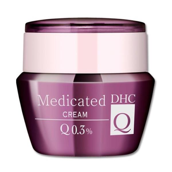 Омолаживающий крем для лица DHC Medicated Cream Q10