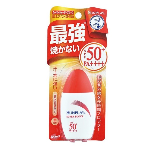 Солнцезащитный крем Rohto SUNPLAY SPF50+ PA++++