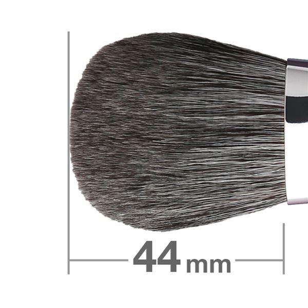 Кисть для румян HAKUHODO Blush Brush LL Round & Flat G501