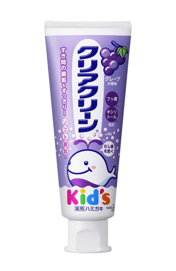 Детская зубная паста Kao Clear Clean Kids