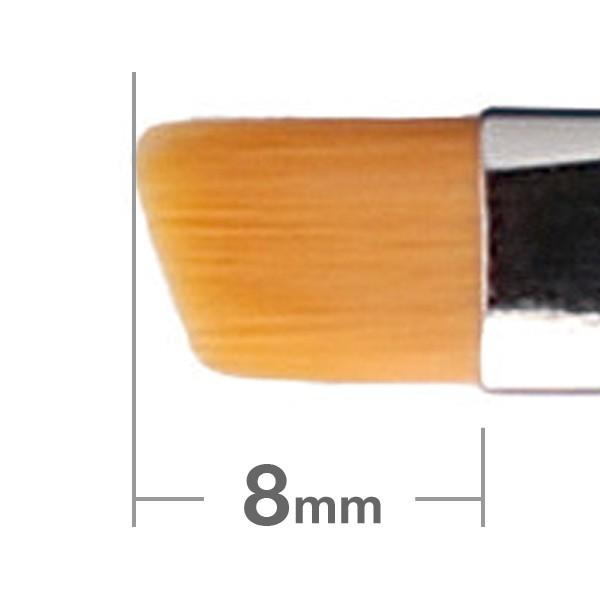 Кисть для бровей HAKUHODO Eyebrow Brush Angled 261