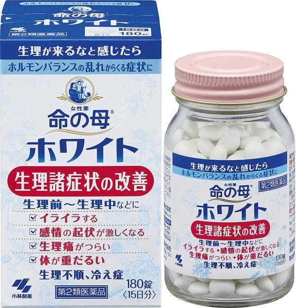 Комплекс для поддержания гормонального баланса у женщин KOBAYASHI Мать жизни Inochi no Haha White на 15 дней