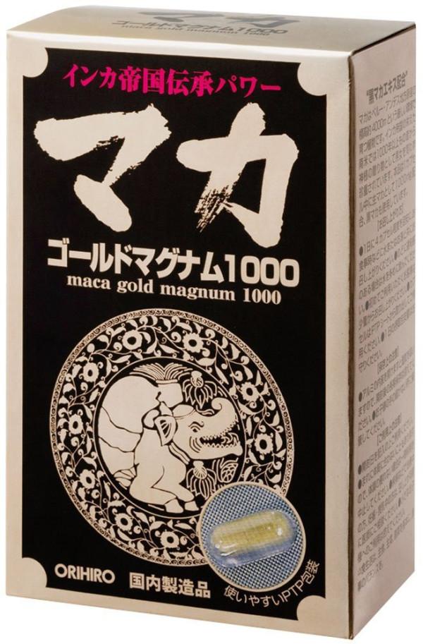 Экстракт маки Maсa Gold Magnum 1000 ORIHIRO