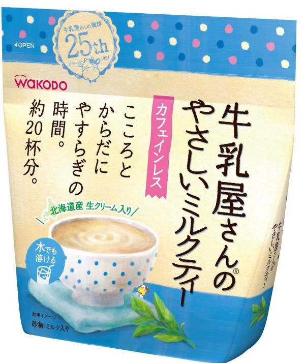 Молочный чай Wakodo Decaffeinated Milk Tea без кофеина