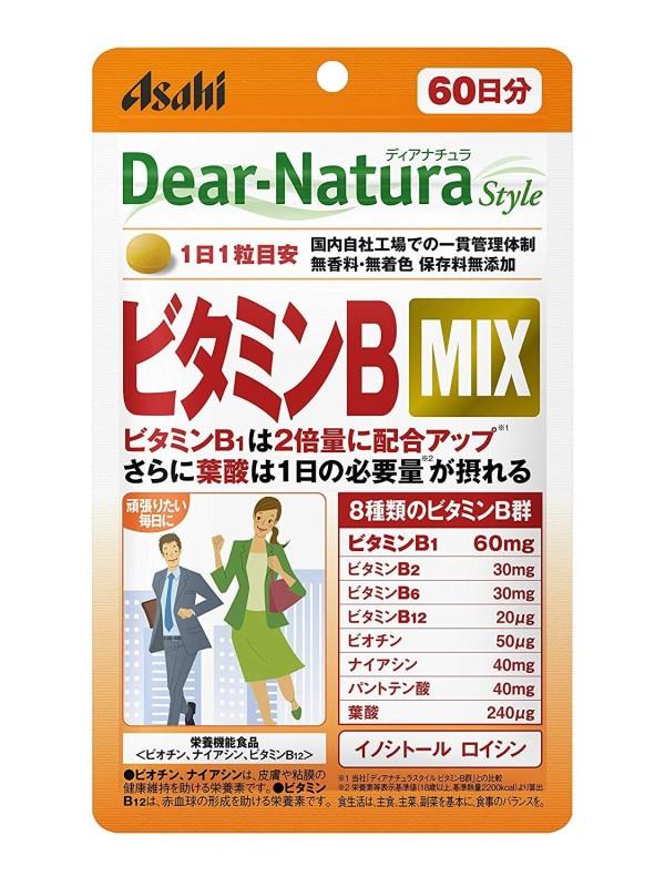 Витамины группы В Asahi Dear-Natura Vitamin B MIX