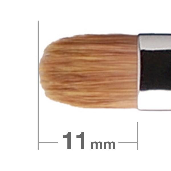Кисть для теней HAKUHODO Eye Shadow Brush Round & Flat 242