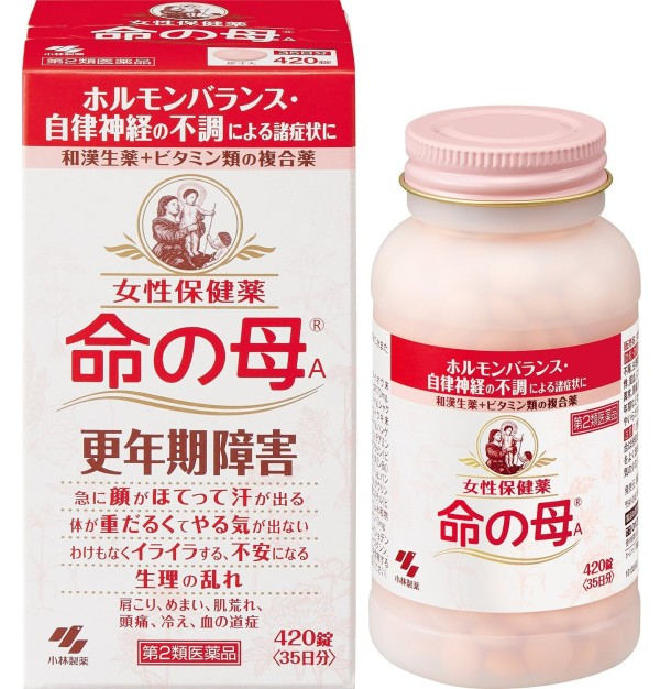 Комплекс для нормализации гормонального баланса у женщин Мать жизни KOBAYASHI Inochi no Haha А после 40 на 35 дней