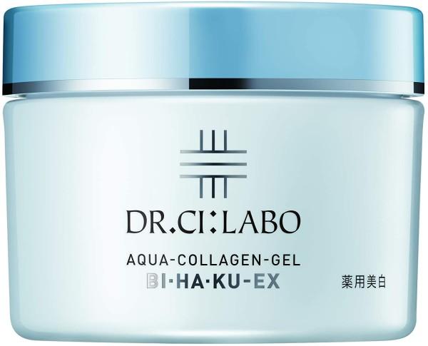 Отбеливающий гель для лица Dr.Ci:Labo Aqua Collagen Gel Bi Ha Ku EX