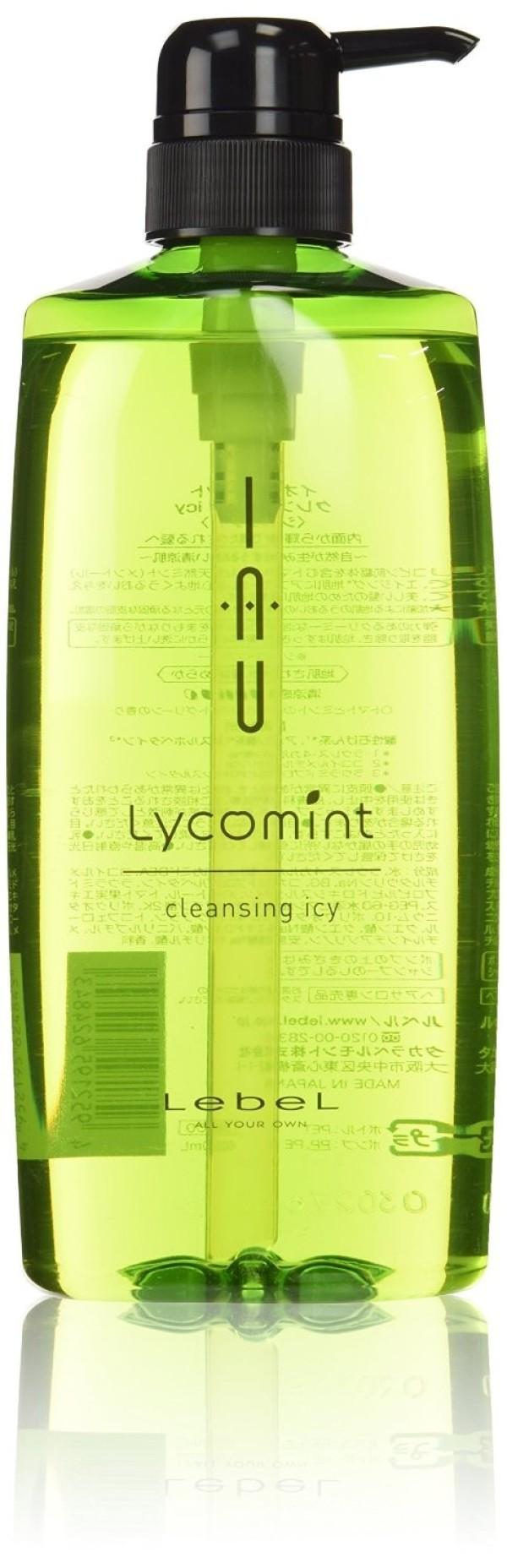 Охлаждающий антиоксидантный шампунь Lebel IAU Lycomint cleansing icy 600 мл