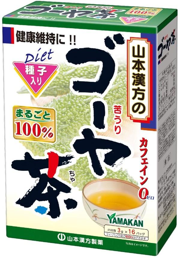 Чай с китайской горькой тыквой Yamamoto Kanpo Goya Tea 100%