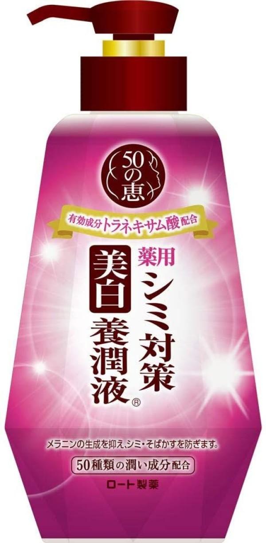 Осветляющее молочко Rohto 50 Megumi Whitening-Milk