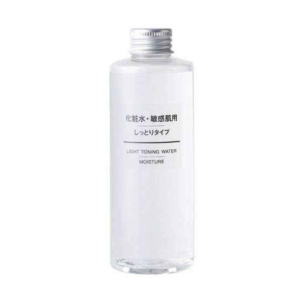 Интенсивно увлажняющий лосьон для чувствительной кожи MUJI Light Toning Water Moisture For Sensitive Skin