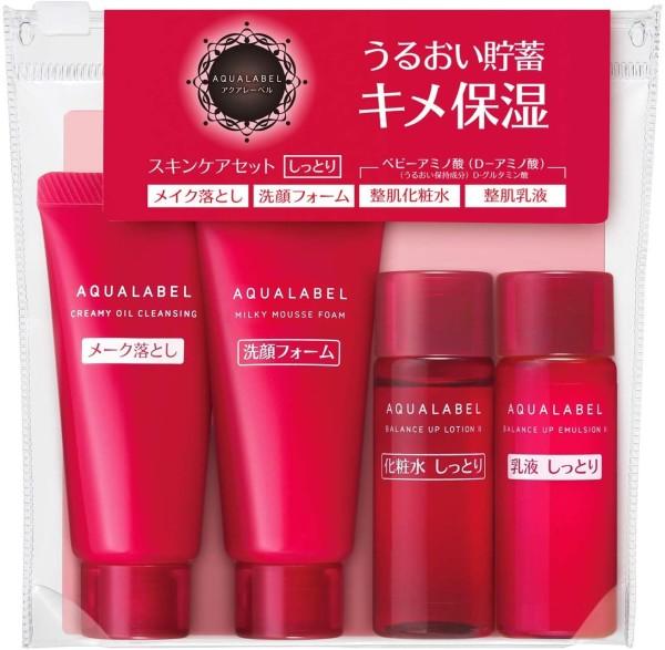 Мини-набор для увлажнения Shiseido Aqua Label