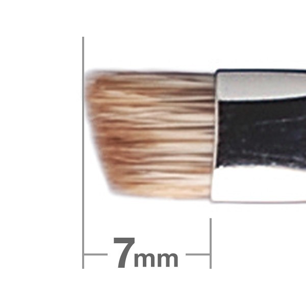 Кисть для бровей HAKUHODO Eyebrow Brush Angled K015