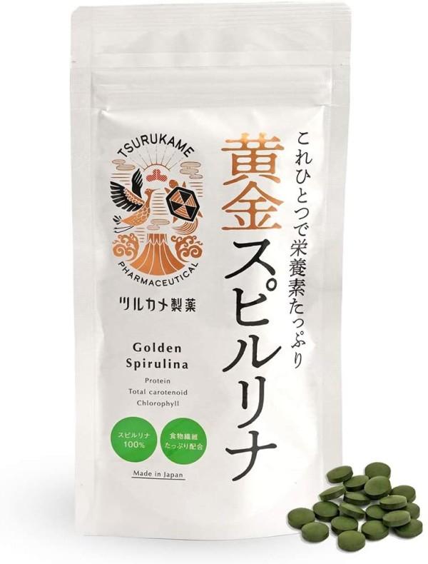 Спирулина c кальцием Golden Spirulina Calcium