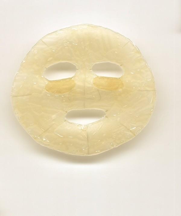 Маска-салфетка для лица с обогащенным желе UTENA PURESA PREMIUM с гиалуроном