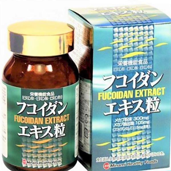 Экстракт фукоидана Minami Healthy Foods Fucoidan Extract