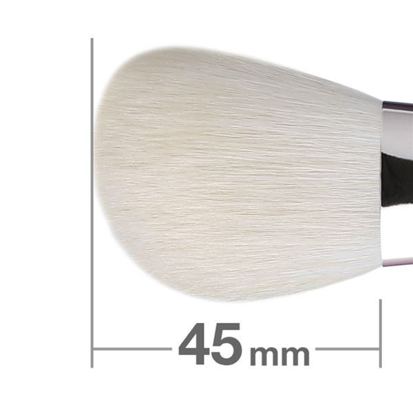 Кисть для пудры HAKUHODO Powder Brush L Angled B531