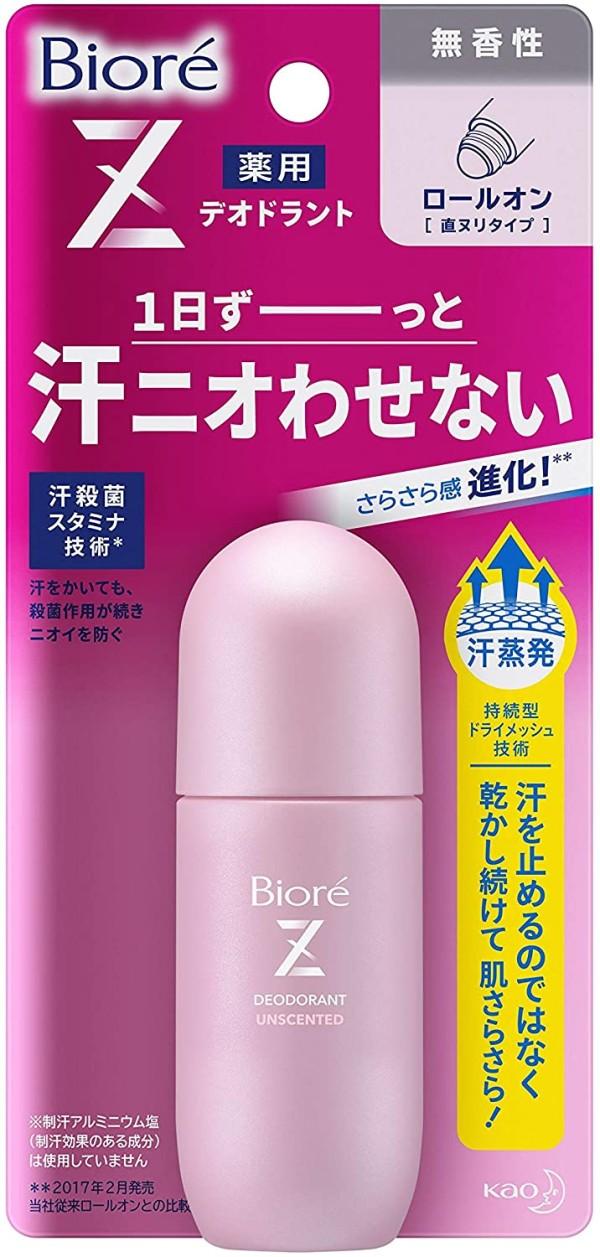Лечебный роликовый дезодорант КАО Biore Deodorant Z