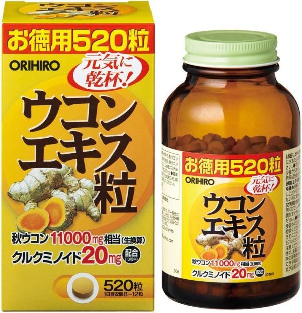 Экстракт куркумы Orihiro