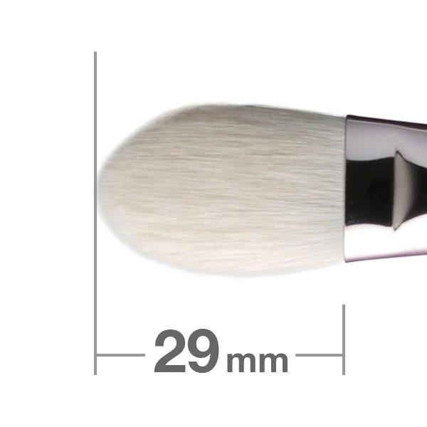 Кисть для хайлайтера HAKUHODO Highlighter Brush Round & Flat J116