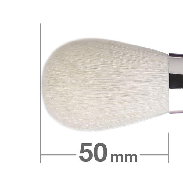 Кисть для пудры HAKUHODO Powder Brush Round & Flat B206
