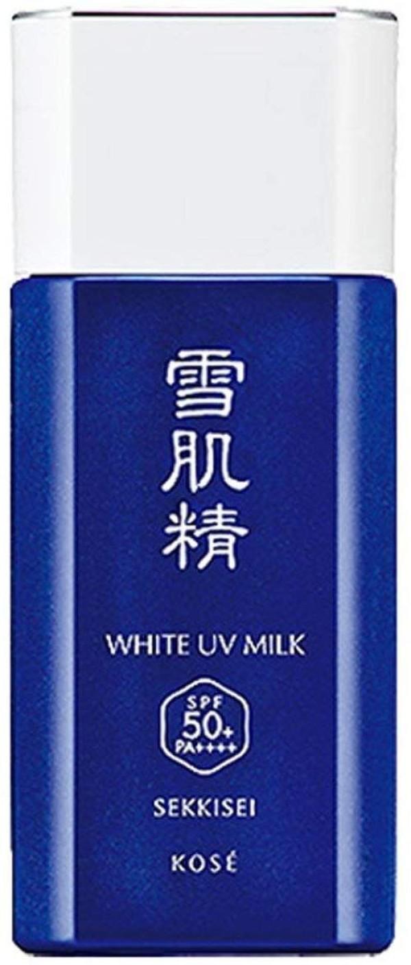 Солнцезащитная водостойкая эссенция для лица и тела Sekkisei Sun Protect Essence Milk N (SPF50+/PA++++ waterproof)
