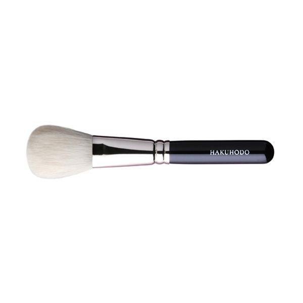 Кисть для румян HAKUHODO Blush Brush Round & Flat J110