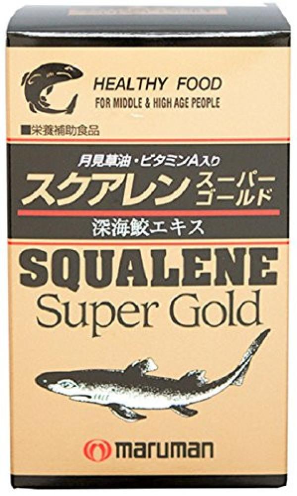 Омолаживающий комплекс со скваленом Maruman Squalene Super Gold