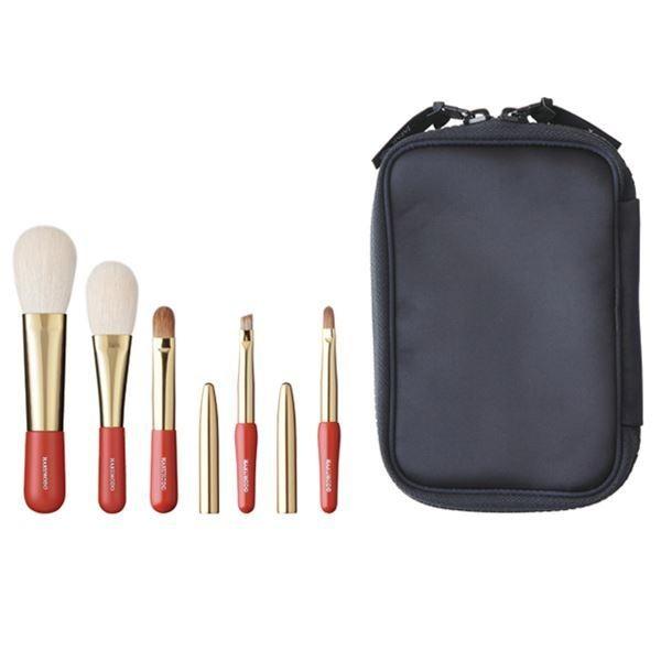 Набор из 5 кистей HAKUHDO Misako Portable Brush Set