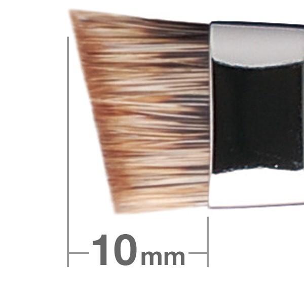 Кисть для бровей HAKUHODO Eyebrow Brush L Angled G524