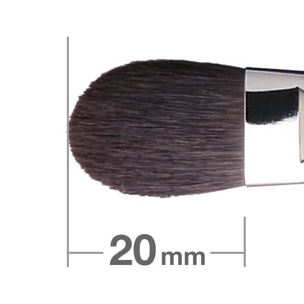 Кисть для теней HAKUHODO Eye Shadow Brush Round & Flat K021