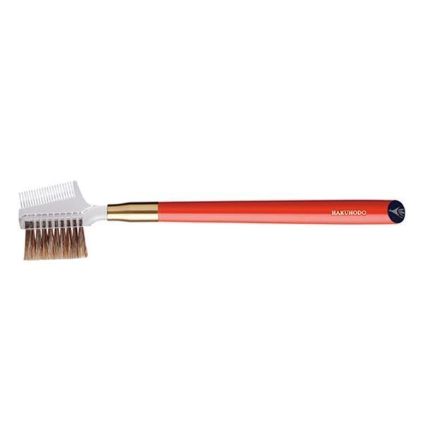 Кисть для бровей HAKUHODO Brow Comb Brush Transparent S195