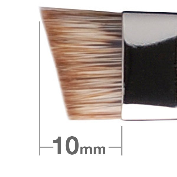 Кисть для бровей HAKUHODO Eyebrow Brush L Angled B524