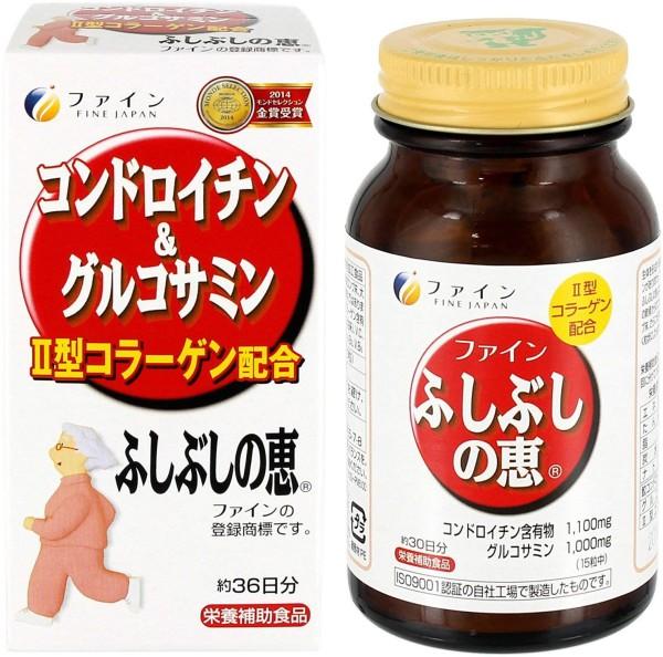 Хондроитин + глюкозамин Fine Japan Chondroitin & Glucosamine