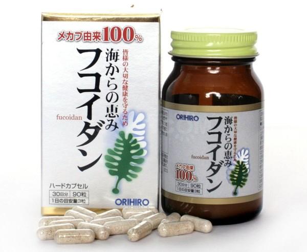 Фукоидан ORIHIRO для здоровья и долголетия
