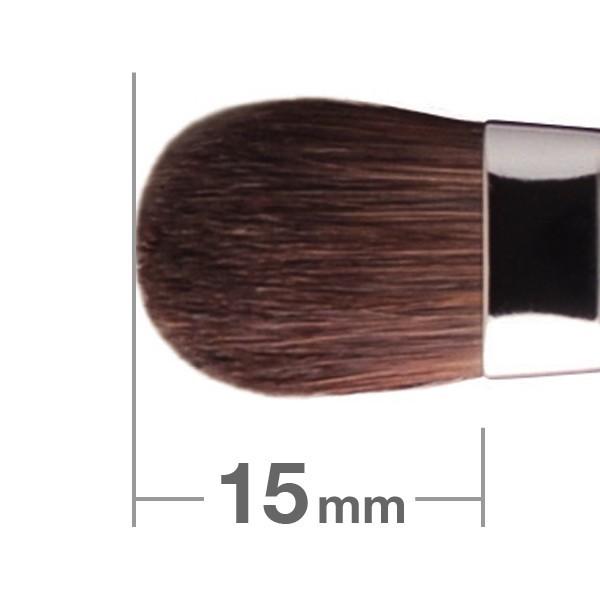 Кисть для теней HAKUHODO Eye Shadow Brush Round & Flat J127Н