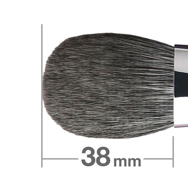 Кисть для румян HAKUHODO Blush Brush M Round & Flat B505