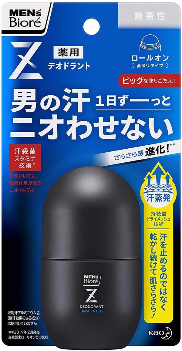 Шариковый дезодорант для мужчин КАО Biore Mens Deodorant Z