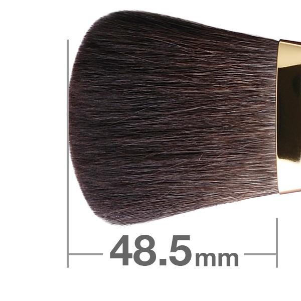 Универсальная кисть HAKUHODOD Finishing Brush Round & Flat S102Bk