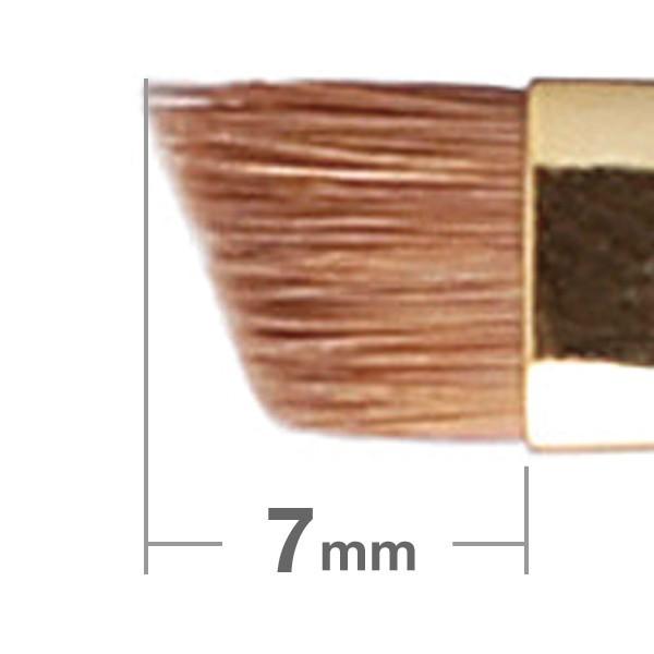 Кисть для бровей HAKUHODO Eyebrow Brush Angled S160