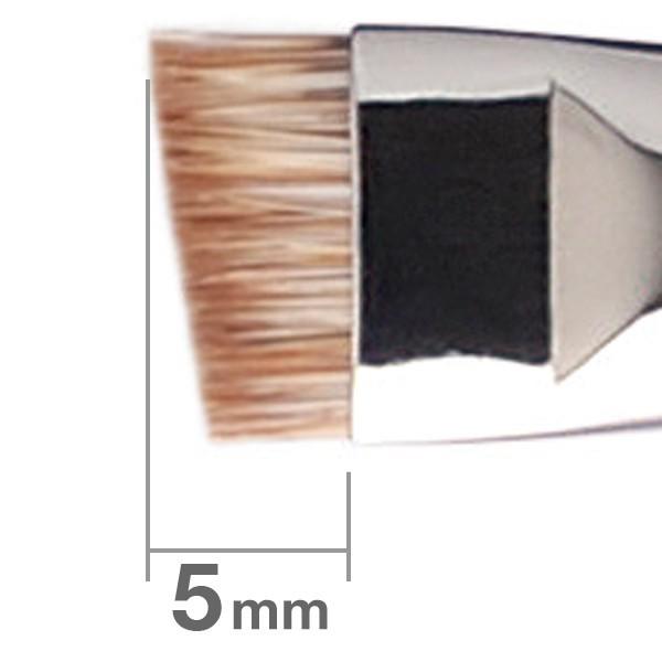 Кисть для бровей HAKUHODO Eyebrow Brush Angled B5549