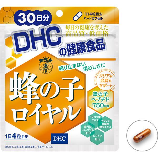 Успокаивающий препарат на основе пчелиной куколки DHC Royal Bee Bean